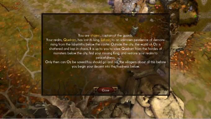 Deprofundis:Requiem ストーリー画面