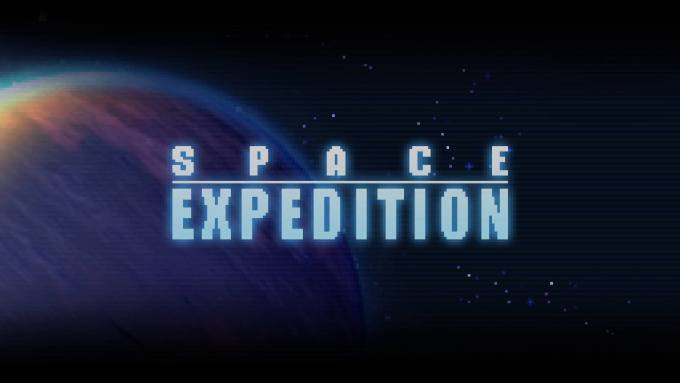 Space Expedition タイトル画面