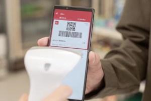 お店でd払いアプリのバーコードを読み込む