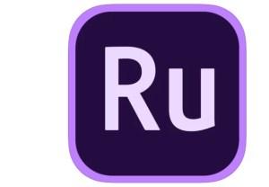 Adobe Premiere Rush CCのロゴ