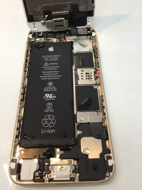 iPhone6 水濡れ