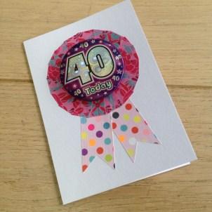 Rosette age badge