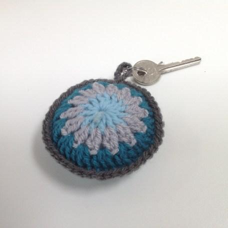 Crochet key ring