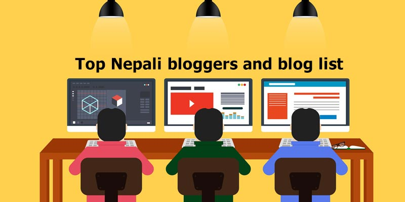 Top Nepali Bloggers Featured image