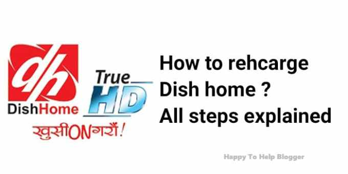 How to Recharge Dish home  All Possible Steps Explained