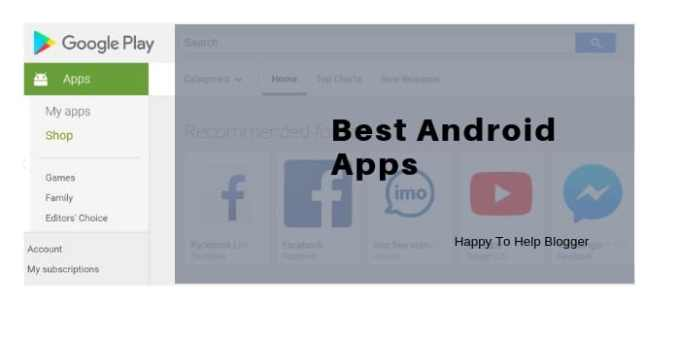 Best android apps image