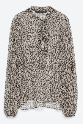 Camisa estampada - Zara