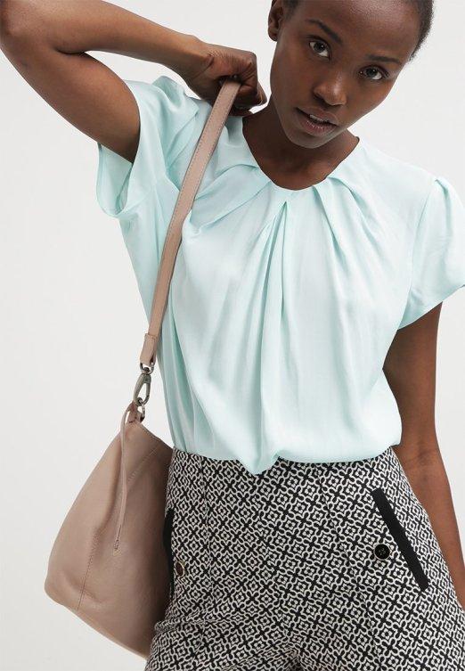 Blusa verde - Seidensticker