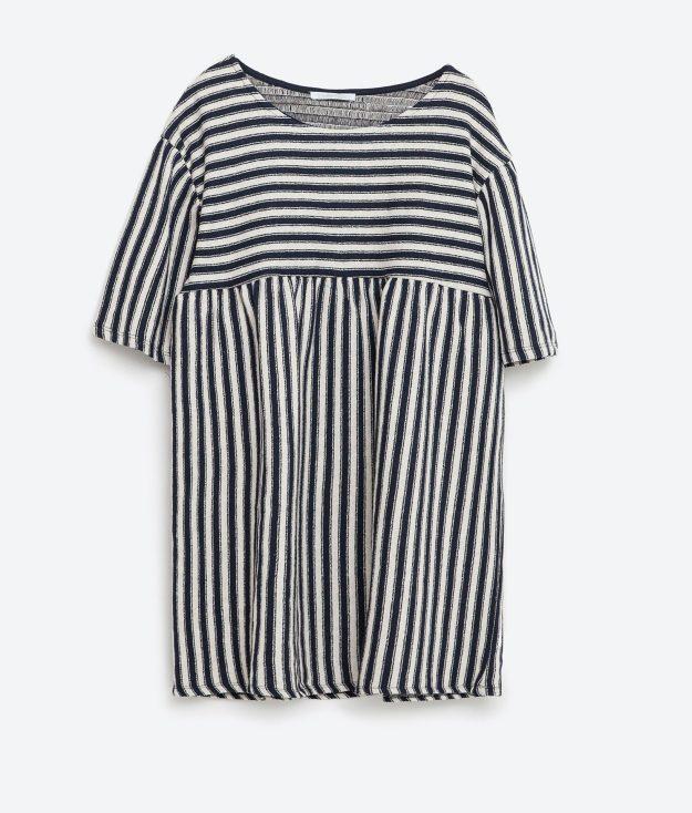 Tunica de rayas - Zara