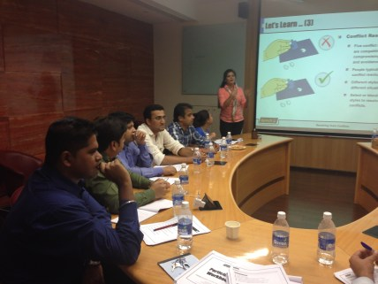 Conflict Management with employees of Aptech in Mumbai
