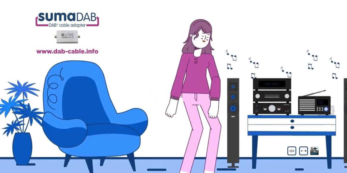 Erklärvideo zum DAB-Cable Adapter von Sumatronic