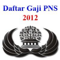 Daftar Gaji Pokok PNS Tahun 2012
