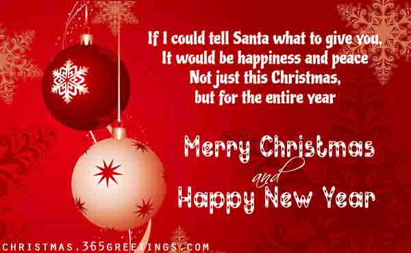 Belated Christmas Wishes for Friends