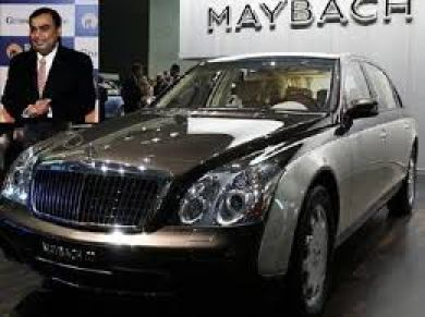 Mukesh Ambani: Maybach 62