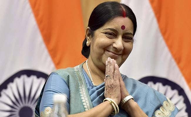 Swaraj took a backseat from the Union Cabinet.
