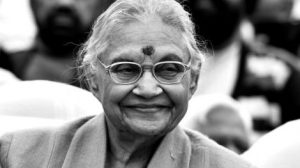 Sheila Dixit passes away at 81.