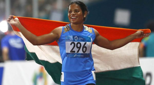 Dutee Chand win historic 100-metres gold at the World University Games.