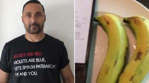 JW Marriott charged Rs.500 for two bananas and Rahul Bose is disappointed.