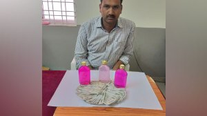 Telangana 'Best Constable' got arrested.
