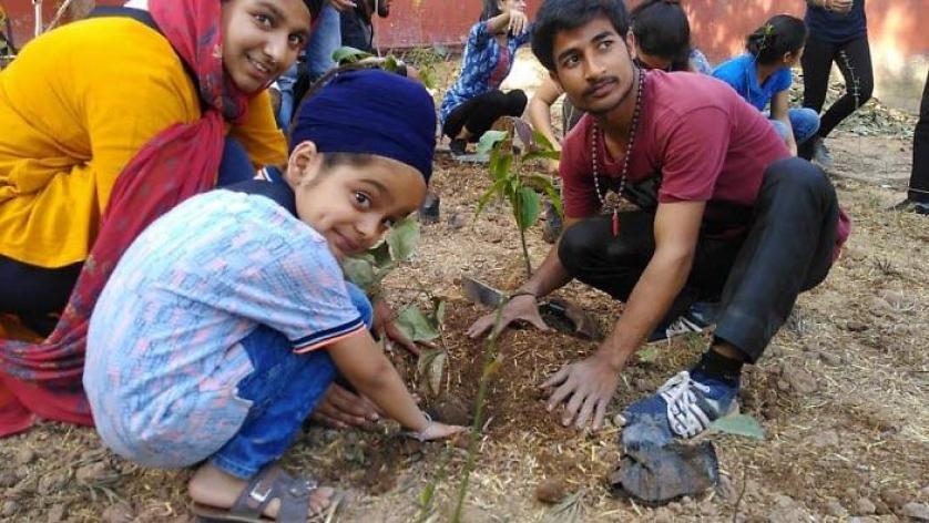 Mega drive to initiate plantation and harmony among Sikh community.