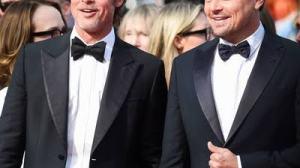 Brad pitt and Leonardo Di Caprio at Golden Globes 2019