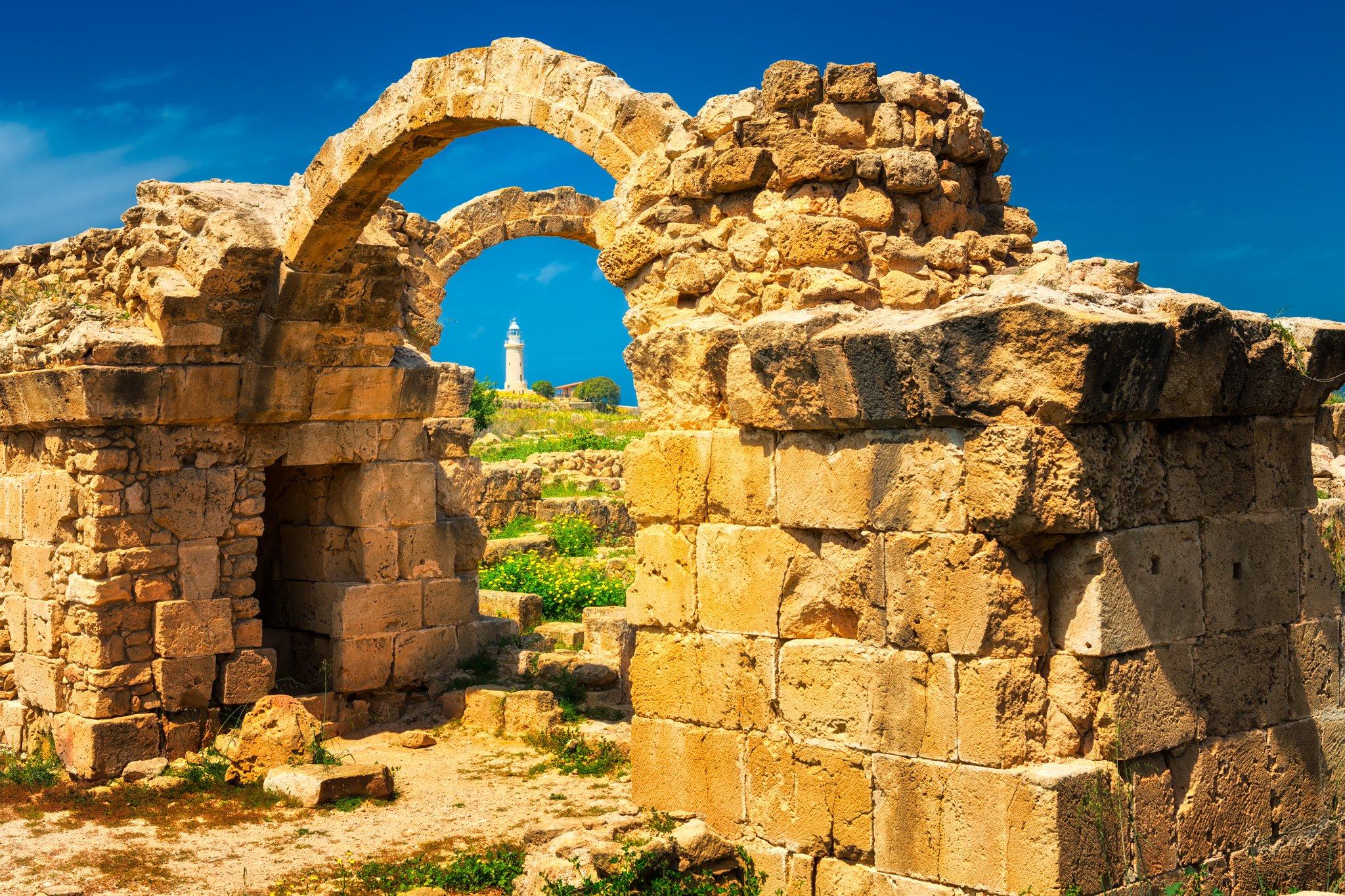 Park Archeologiczny wiosną | Pafos, Cypr