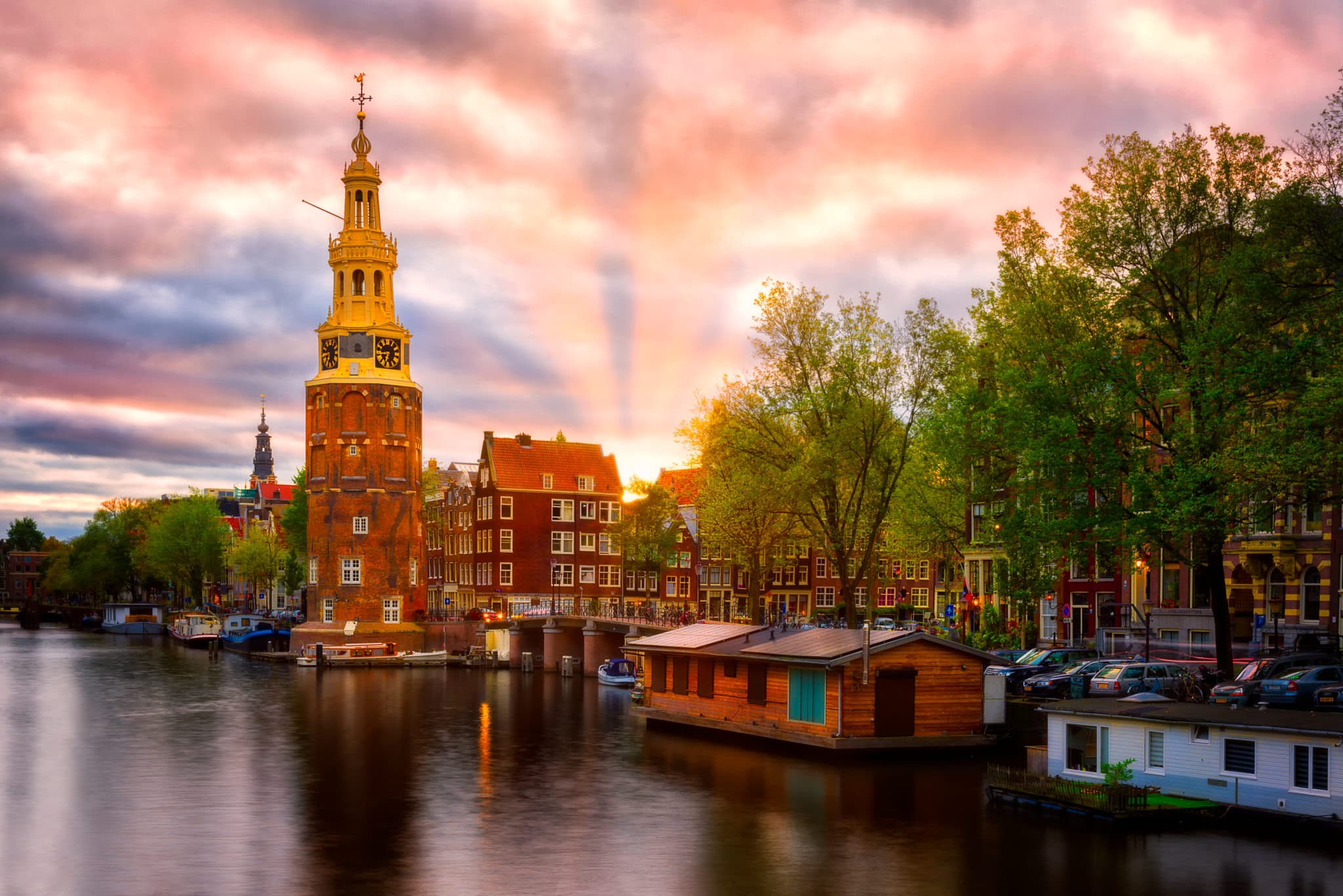 Montelbaanstoren | Amsterdam, Holandia