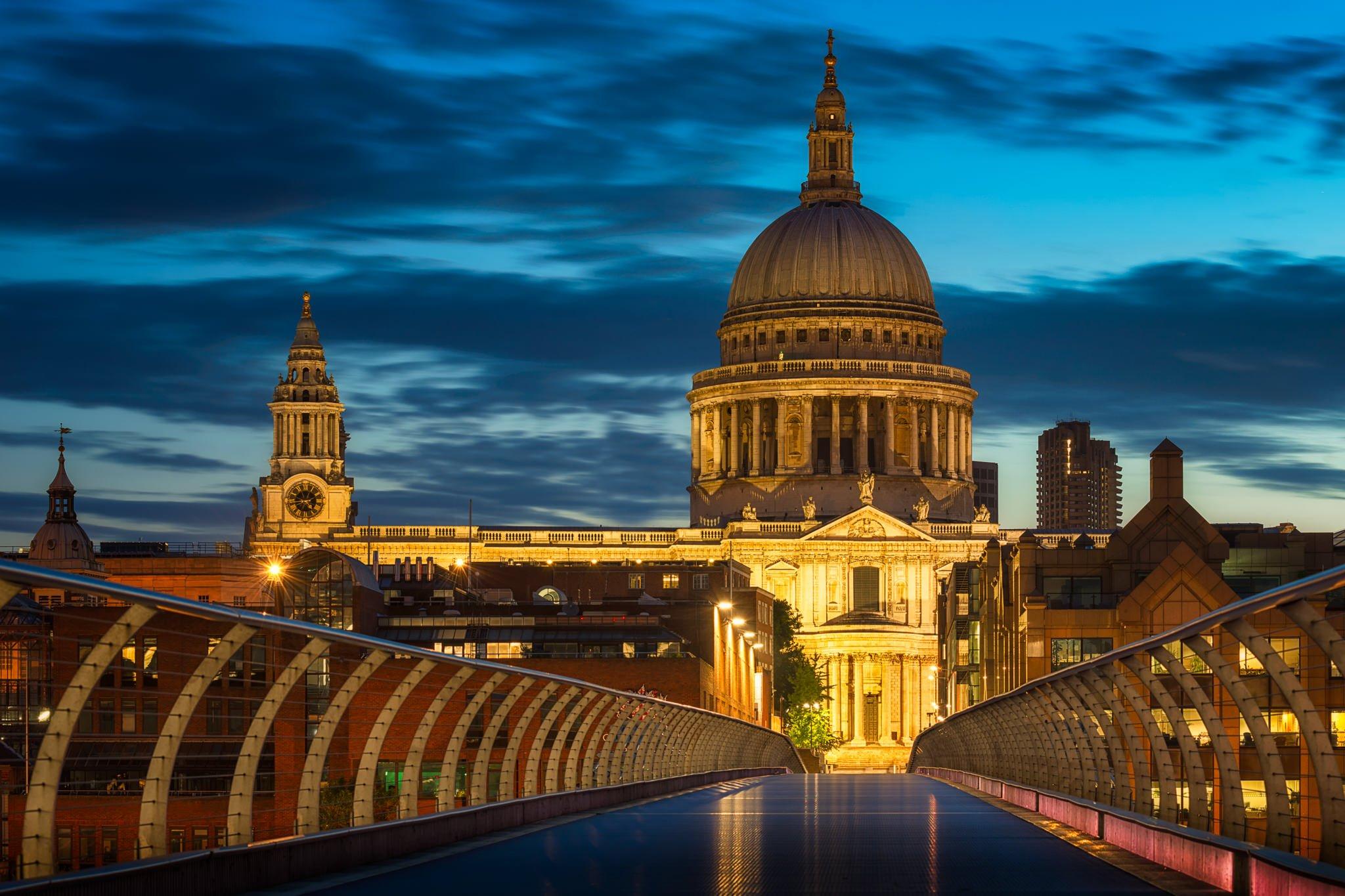 Wschód słońca na Londyn  Tysiąclecie    Anglia