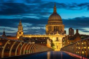 Wschód słońca na Londyn  Tysiąclecie  | Anglia