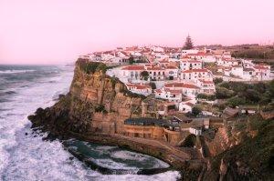 Poglądy na Azenhas do Mar   Portugalia