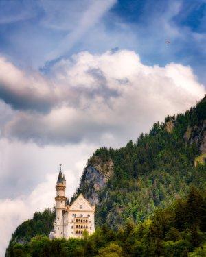 Zamek Neuschwanstein | Bawaria, Niemcy