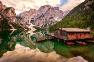 Jezioro Braies | Dolomity, Włochy