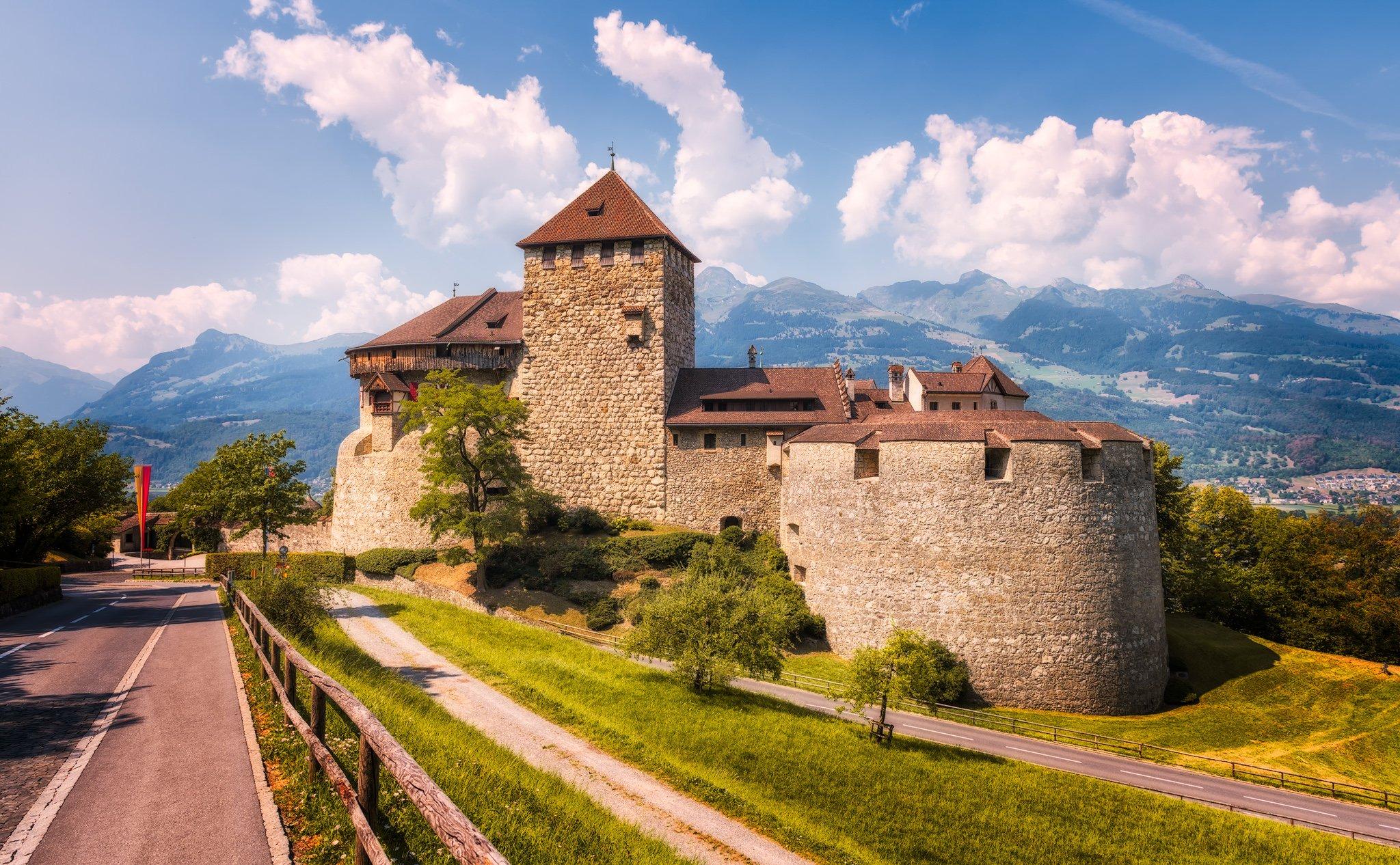 Zamek Vaduz | Vaduz, Liechtenstein