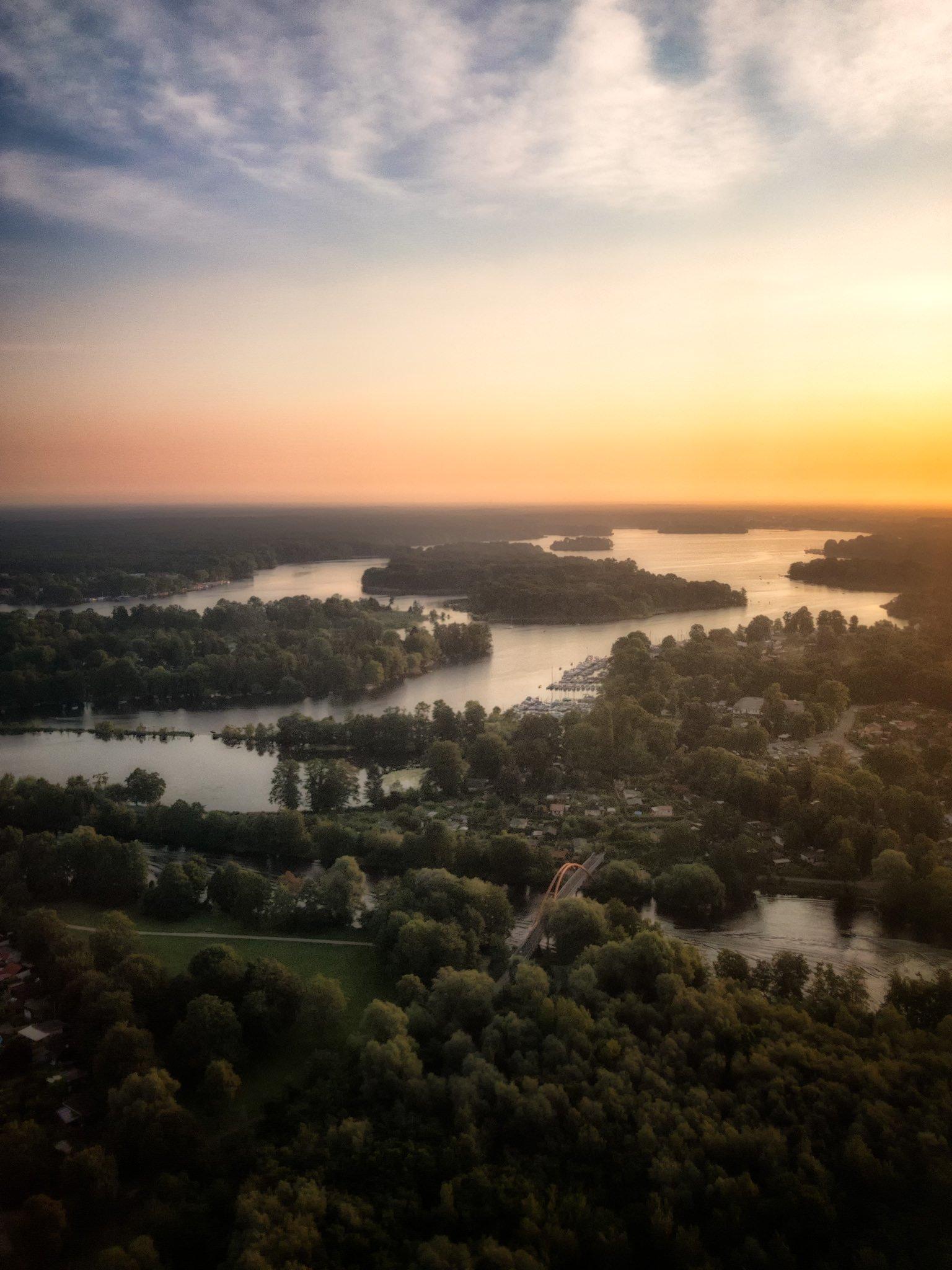 Jezioro Tegel | Berlin, Niemcy