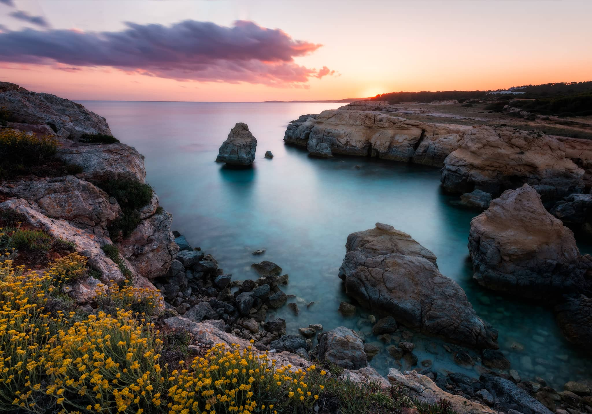 Sunset on Atalis Beach | Menorca, Spain