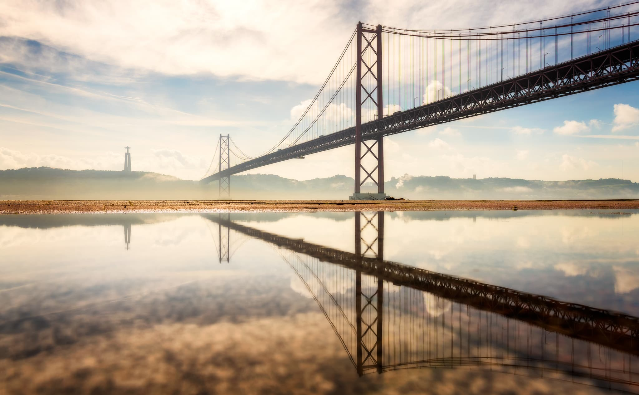 25 de Abril Bridge in Lisbon |Portugal