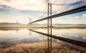 25 de Abril Bridge in Lisbon |Portugal