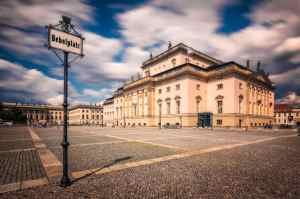 Berlin monuments | Babelplatz and Unter den Linden, Germany