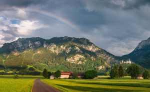 Neuschwanstein w Bawarii – Schwangau | Niemcy