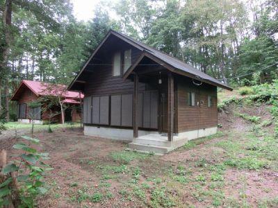 群馬県北軽井沢の別荘&田舎物件 森の中の1LDK 450万円 管理費無し