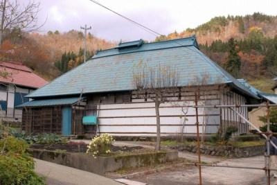 福島県喜多方市 静かな山間の古民家 200万円