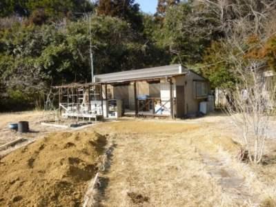 茨城県鉾田市 広い家庭菜園付の1LDK 370万円