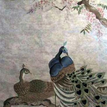 """Anne Klein """"Peacocks"""""""