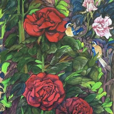 "Carolyn Jackson Sahni ""Roses"""