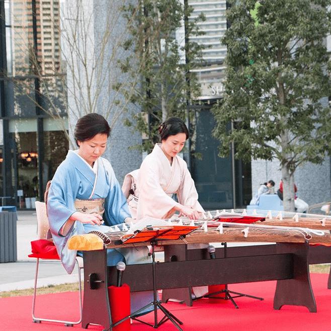圖片來源: 地唄箏曲美緒野会