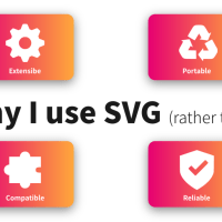 SVG を選ぶ4つの理由! (Ai ではなく)