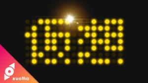 タイルクローンとブレンドモードで電光掲示板ロゴ  #014