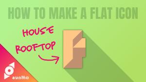 フラットアイコンの簡単な作り方 #016