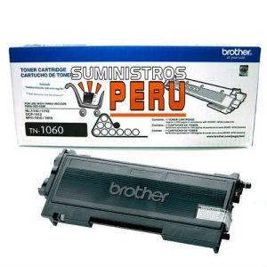 TONER BROTHER TN-1060, Tecnología de impresión: Láser, Color: Negro, Rendimiento: 1000 pgs. Aprox. Compatibilidad: HL-1112 / DCP-1512.