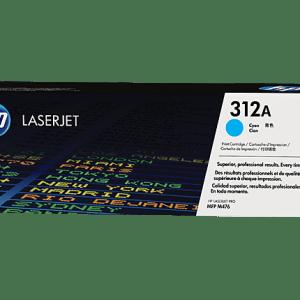 TONER HP 312A CF381A, Color: Cyan, Compatibilidad:LaserJet Pro M476dn/ M476dw/ M476nw, Rendimiento: 2700 páginas